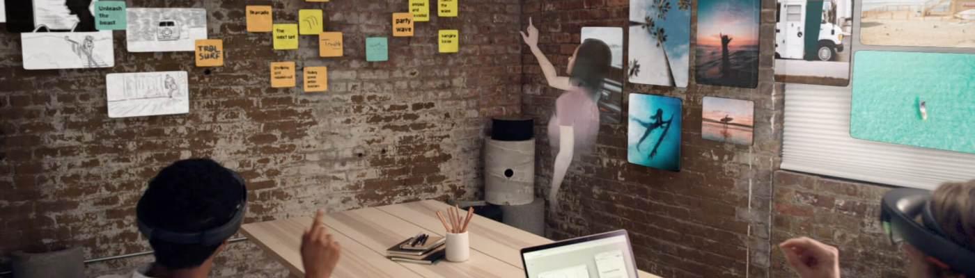 reuniones a través de realidad virtual y aumentada