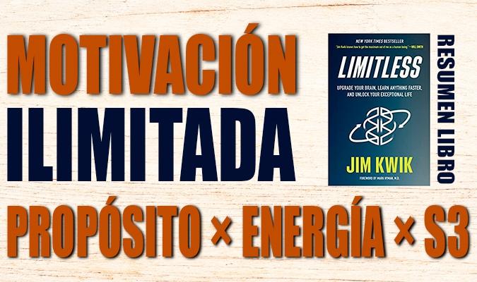 Motivación Ilimitada Libro Limitless Jim Kwik